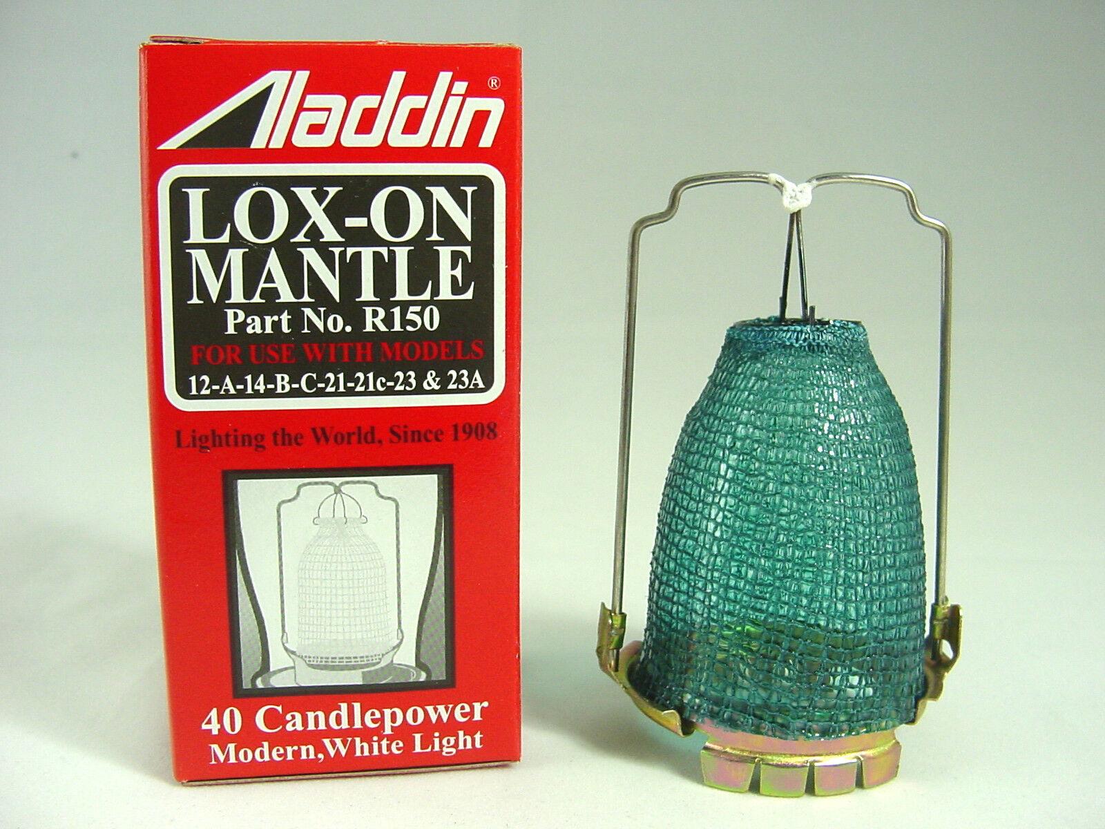 Aladdin R-150 Lox-on Oil Lamp Mantle | eBay