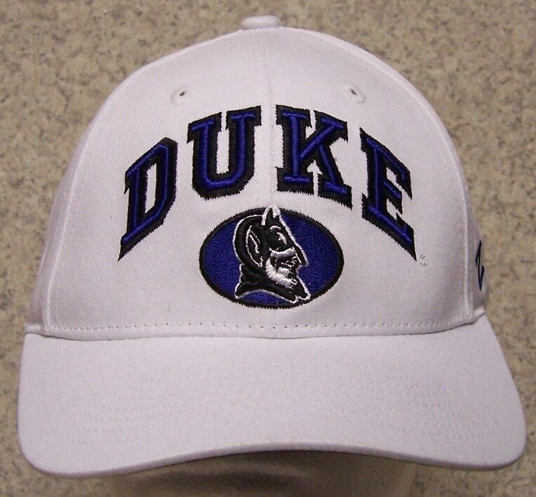 huge selection of 68d52 100c6 ... greece embroidered baseball cap ncaa duke university blue devils 1 hat  size 36d8b 0f14e