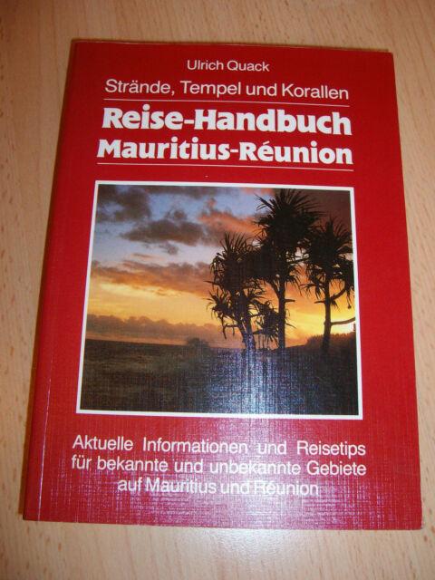 Reise-Handbuch Mauritius-Réunion – Ulrich Quack – 1993/94