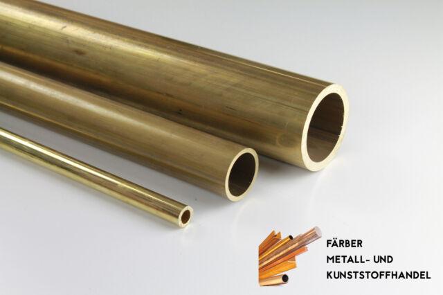 Messingrohr Rundrohr Rohr  Durchmesser 40x2 mm / 1000mm Länge CuZn39Pb3 MS58
