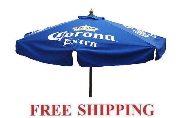 Corona Extra 7 Foot Beer Patio Umbrella Market Style   EBay