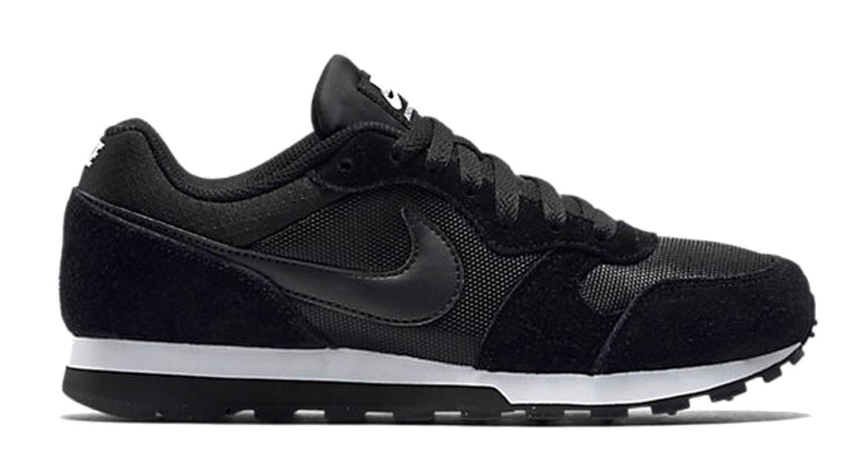 TG. 39 EU Nike MD Runner 2 Scarpe da Donna Nero Black/BlackWhite V9B