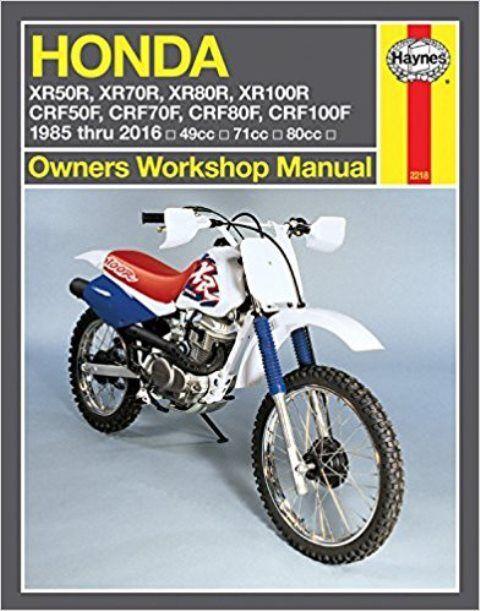 honda xr80r xr100r workshop service manual ebay rh ebay com 2002 honda xr100r repair manual honda xr100r parts manual