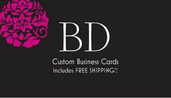 250 custom full color business cards design ebay reheart Image collections