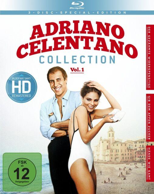 Adriano Celentano - Collection Vol. 1 - Ornella Muti,Eleonora Giorgi - 3 Blu Ray