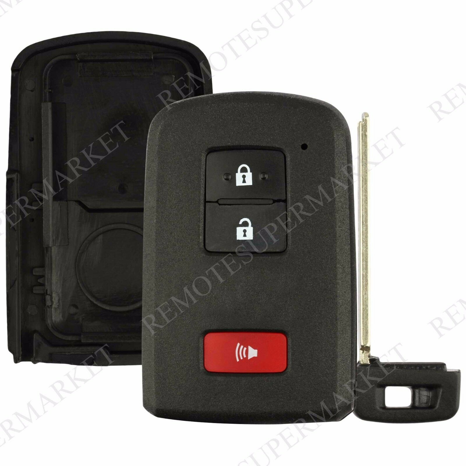 2 Replacement for Toyota 2004 2009 Prius Remote Car Key Fob Entry