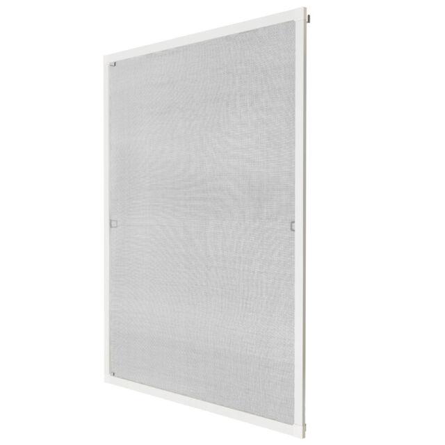 Insektenschutz Fliegengitter Fenster Alurahmen Alu Mückenschutz weiß 80x100cm