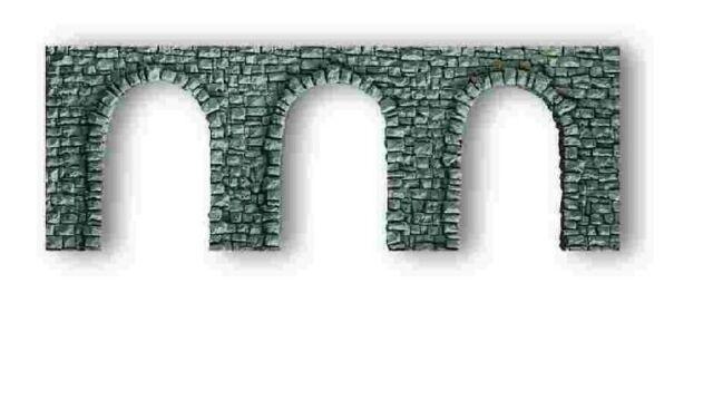 NOCH 58260 - MURO CON ARCATE 27 x 10 cm PROFI