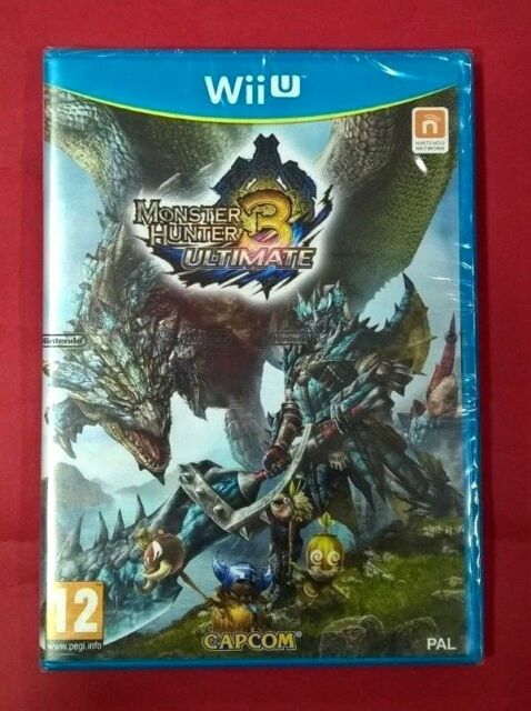 Monster Hunter 3 Ultimate - NINTENDO - WiiU - NUEVO