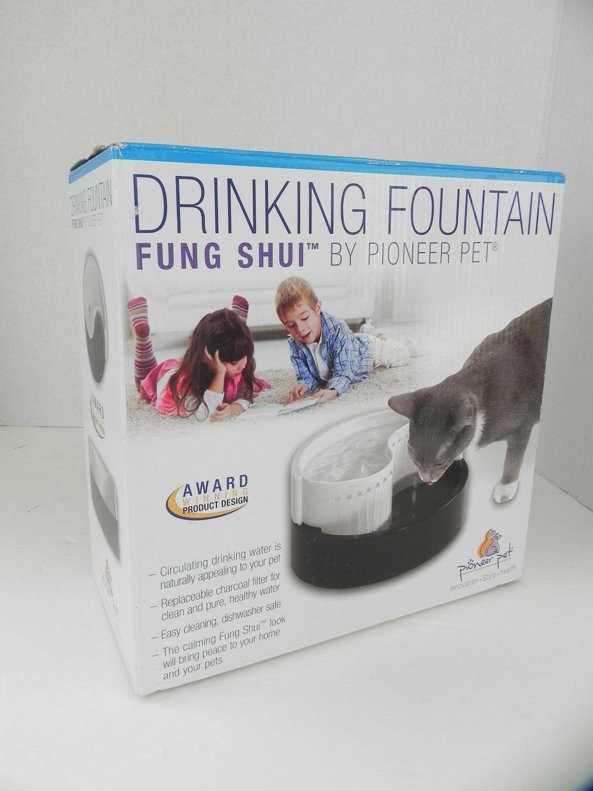 Pioneer Pet Plastic Drinking Fountain Fung Shui Dog Cat | eBay