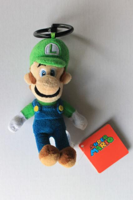 Super Mario Plüsch Figur Luigi ca. 17 cm NEU!