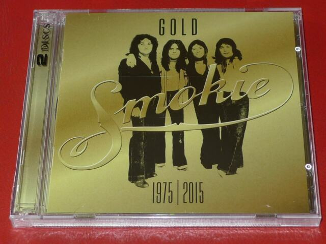 Gold: 1975-2015 by Smokie (CD, Mar-2015, 2 Discs, Sony Music)