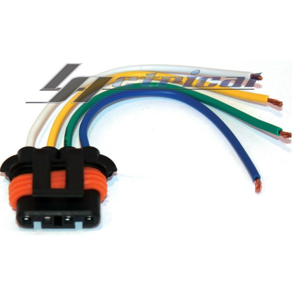 Alternator Repair Plug Pigtail Harness Connector 4 Wire Pin for ...