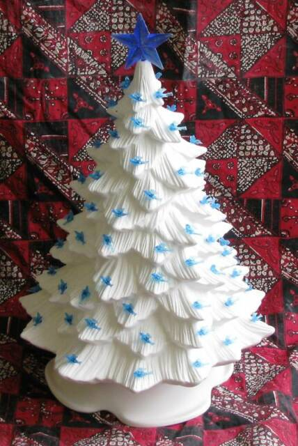 ceramic bisque 16 inch christmas tree doc holliday 725 light kit u paint