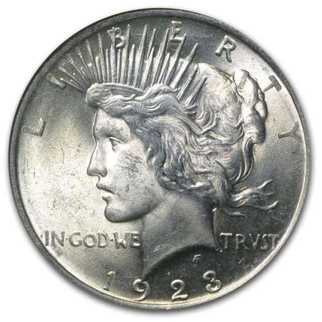 1922-1925 Peace Dollars MS-63 NGC - SKU #15620