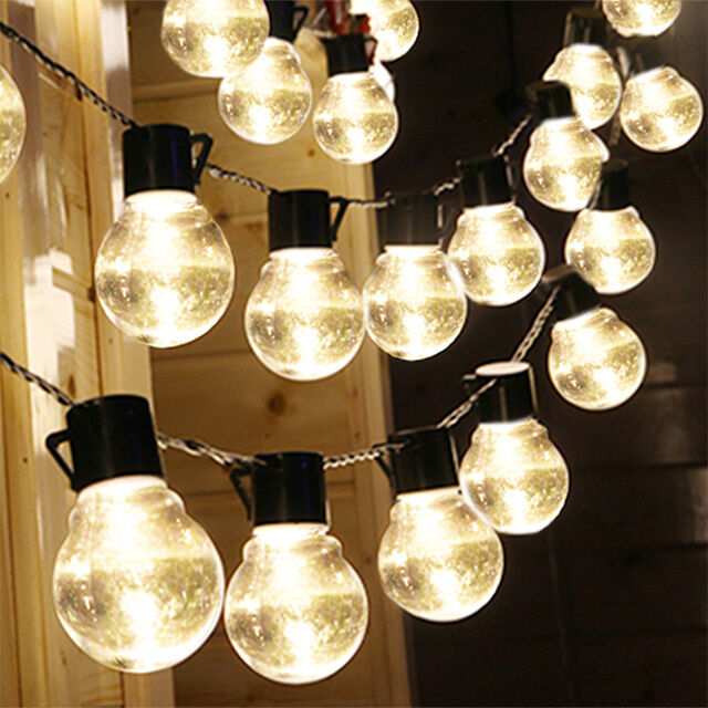 2m outdoor solar powered night bulb string light 10 led lights yard 2m outdoor solar powered night bulb string light 10 led lights yard garden lamp clear ebay audiocablefo