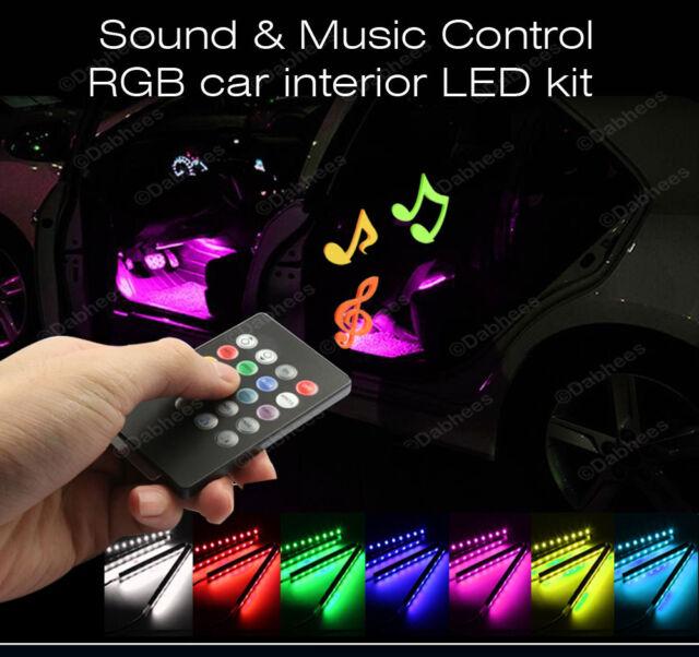 12v car interior rgb colour led strip light wireless music control 12v car interior rgb colour led strip light wireless music control 7 colors aloadofball Images