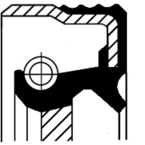 CORTECO DICHTRING, ACHSSCHENKEL 12030146B