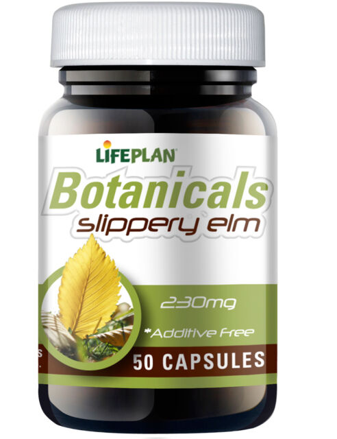 Lifeplan Slippery Elm 230mg 50 Capsules - Digestive Aid