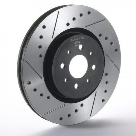 Front Sport Japan Tarox Brake Discs fit Volvo C70 00-02 2.4 Turbo 2.4 00>02
