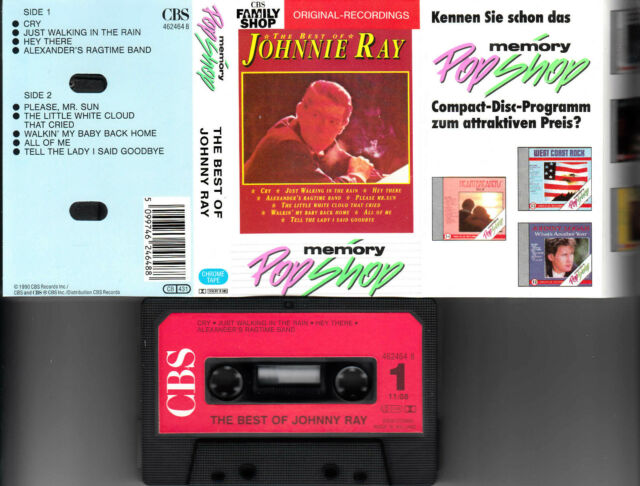 JOHNNIE RAY - The Best Of Johnnie Ray ★ MC Musikkassette