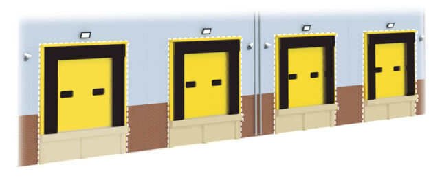 SSM312 Wills HGV Loading Bay Detail Kit OO 00 Gauge Plastic Kit