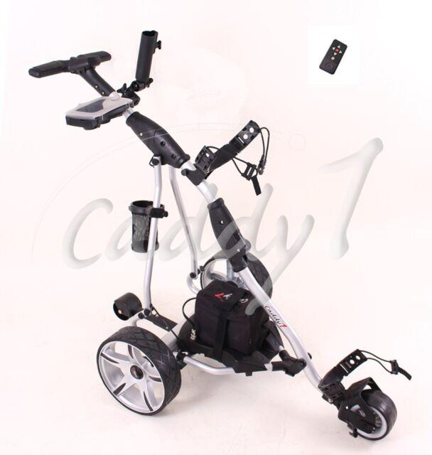 caddyone 400 elektro golf trolley schwarz ebay. Black Bedroom Furniture Sets. Home Design Ideas
