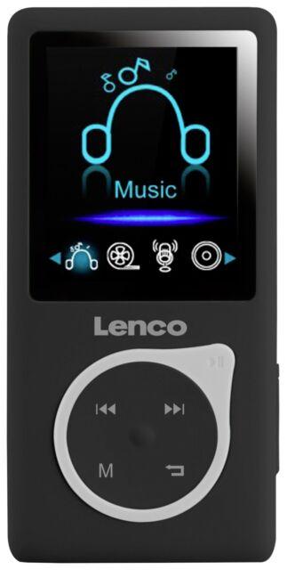 Mediaplayer portable Lenco Xemio-657 4GB schwarz