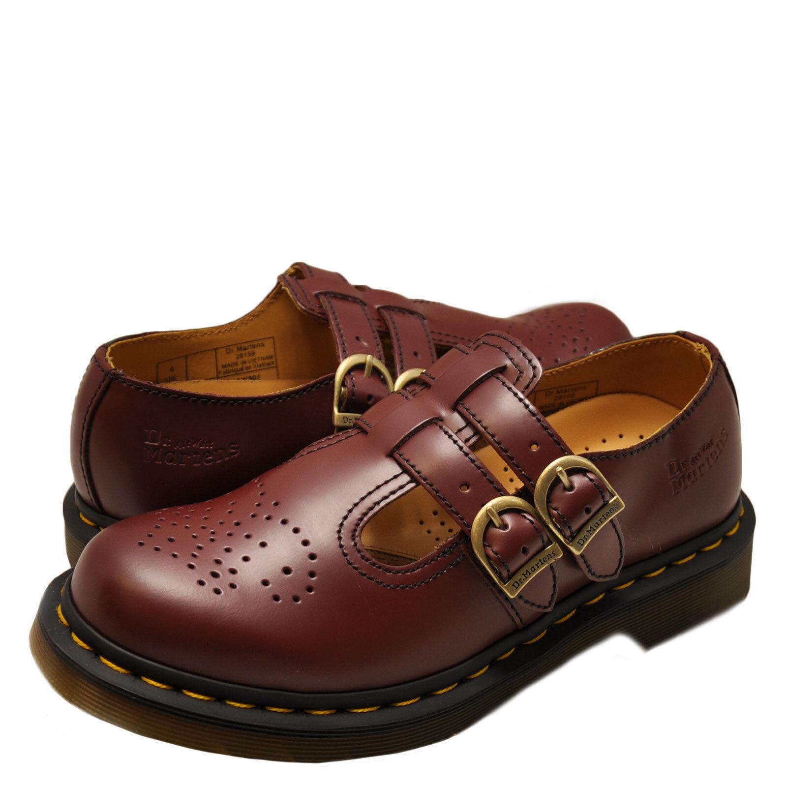 item 3 Women's Shoes Dr. Martens 8065 Double Strap Mary Jane 20159600 Cherry  Red *New* -Women's Shoes Dr. Martens 8065 Double Strap Mary Jane 20159600  ...