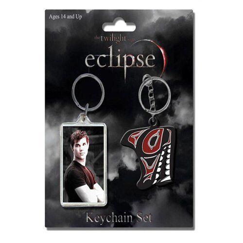 Twilight - 2 Schlüsselanhänger - Eclipse - Jacob - Keychain Set - NEU - NECA