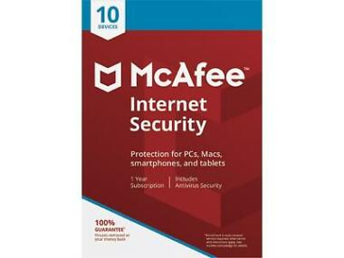 McAfee Internet Security 2018 Software