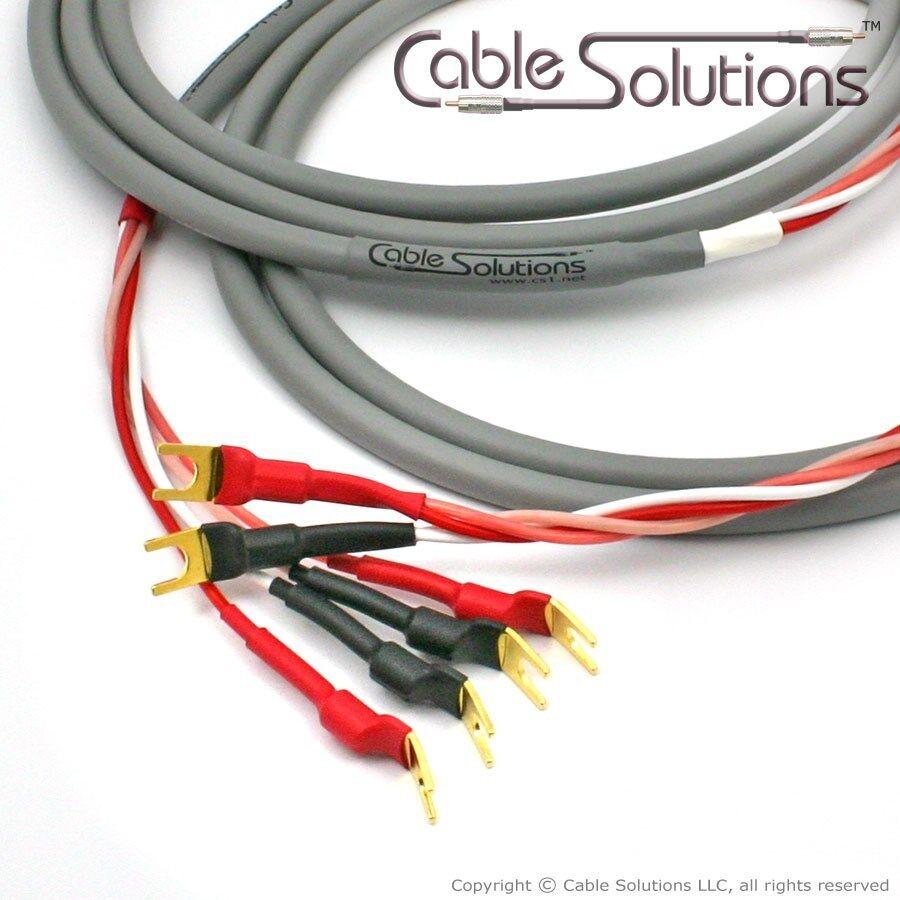 Canare 4s8 Star Quad Bi-wire Speaker Cables 10m Vampire Wire ...