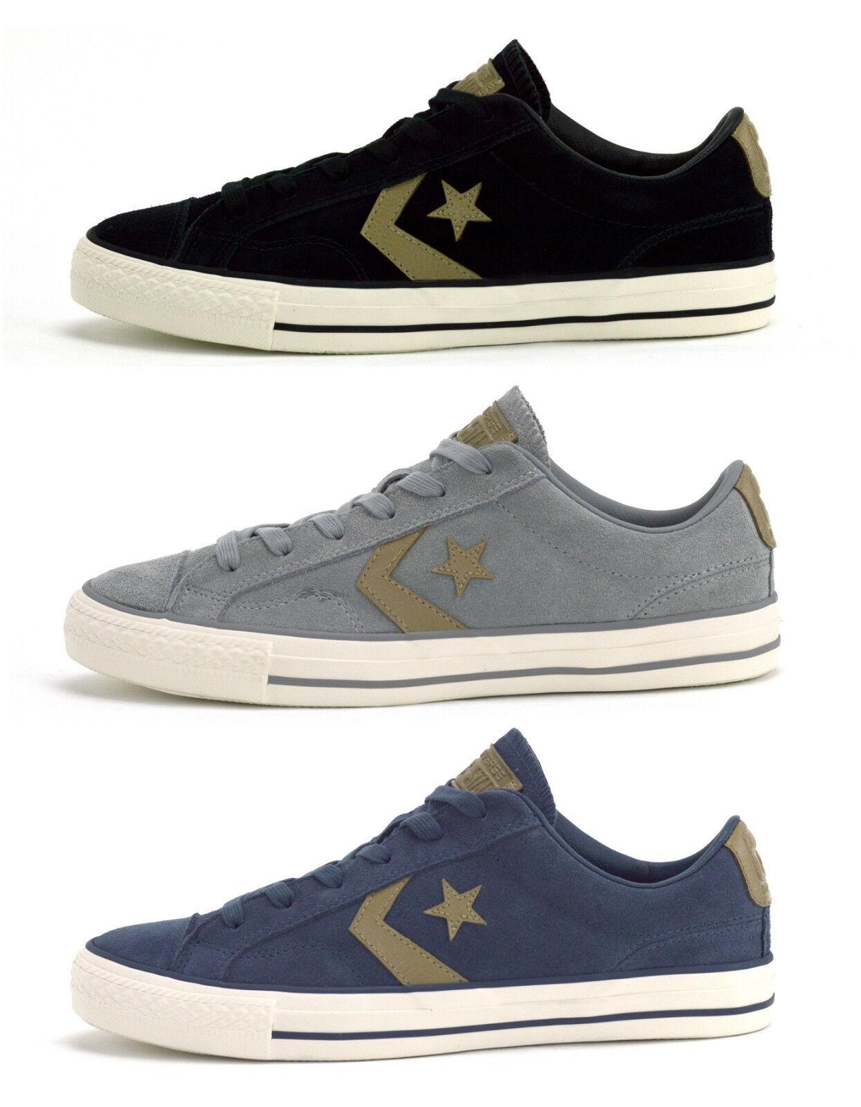 Converse STAR PLAYER OX Sneaker Scarpe Uomo Donna nero 160581c