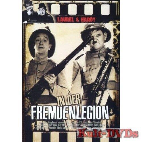 Laurel & Hardy in der Fremdenlegion (DVD) Dick und Doof *Neu+OVP*