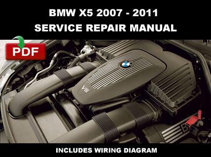BMW X5 (e70) 2007 2008 2009 2010 2011 Factory Service Repair Manual ...