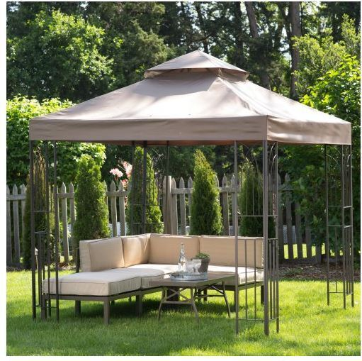 Gazebo Tent Canopy Cover Shelter 8x8 Shade Pergola Outdoor Yard Patio BBQ Picnic | eBay & Gazebo Tent Canopy Cover Shelter 8x8 Shade Pergola Outdoor Yard ...