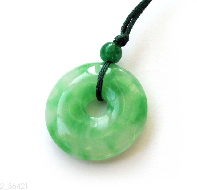 Green jade peace buckle circle donut amulet pendant talisman happy green jade peace buckle circle donut amulet pendant talisman happy lucky jewelry mozeypictures Image collections