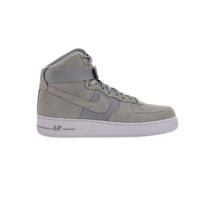 Nike Air Force 1 High '07 Mens 315121-041 Platinum Wolf Grey Shoes Size 10.5