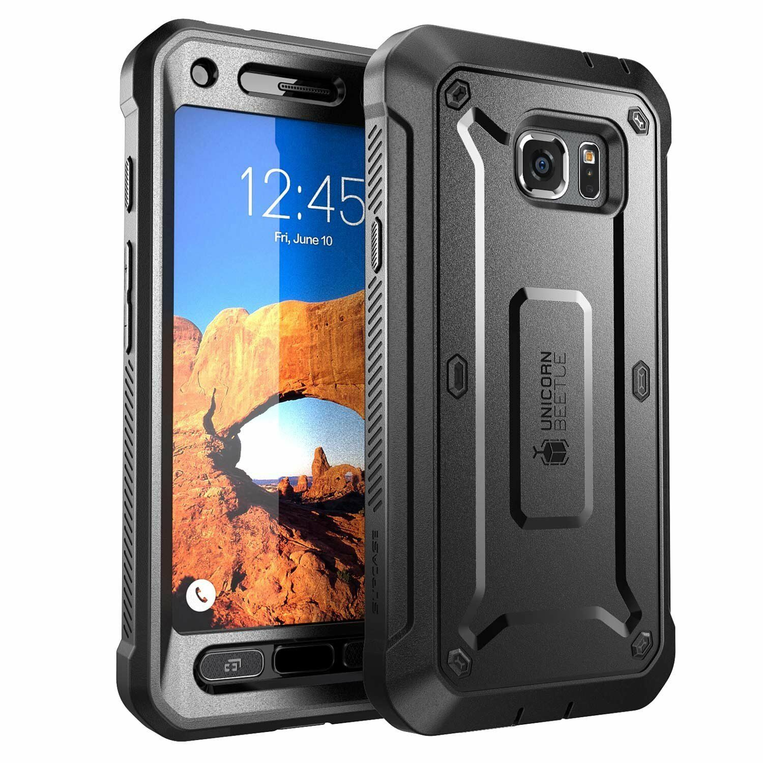 Samsung Galaxy S7 Active SUPCASE Unicorn Beetle Pro Rugged Holster Black  Case | EBay