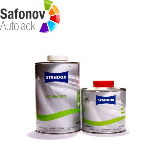 STANDOX STANDOCRYL KRISTALL PRO K9040 2K Klarlack Set 0,5 Liter *0208413400