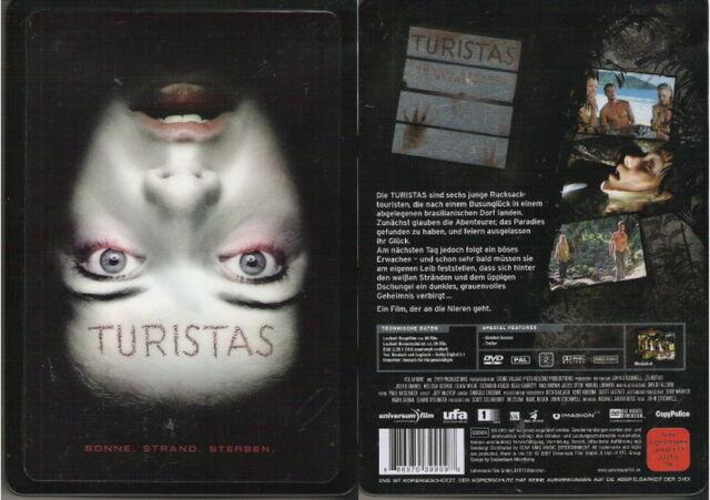 TURISTAS --- Metalpak mit Hologramm-Front --- Ungekürzte Fassung --- FSK 18 ---