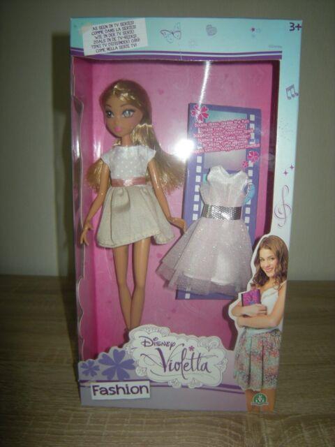 Violetta Puppe Fashion Violetta Trendy oder Music Star mit 2 Kleider NEU