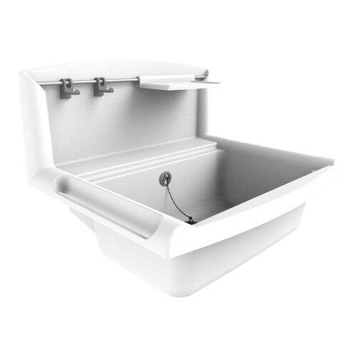 Sanit Multiset Ausgussbecken weiß Waschtrog 60005010099