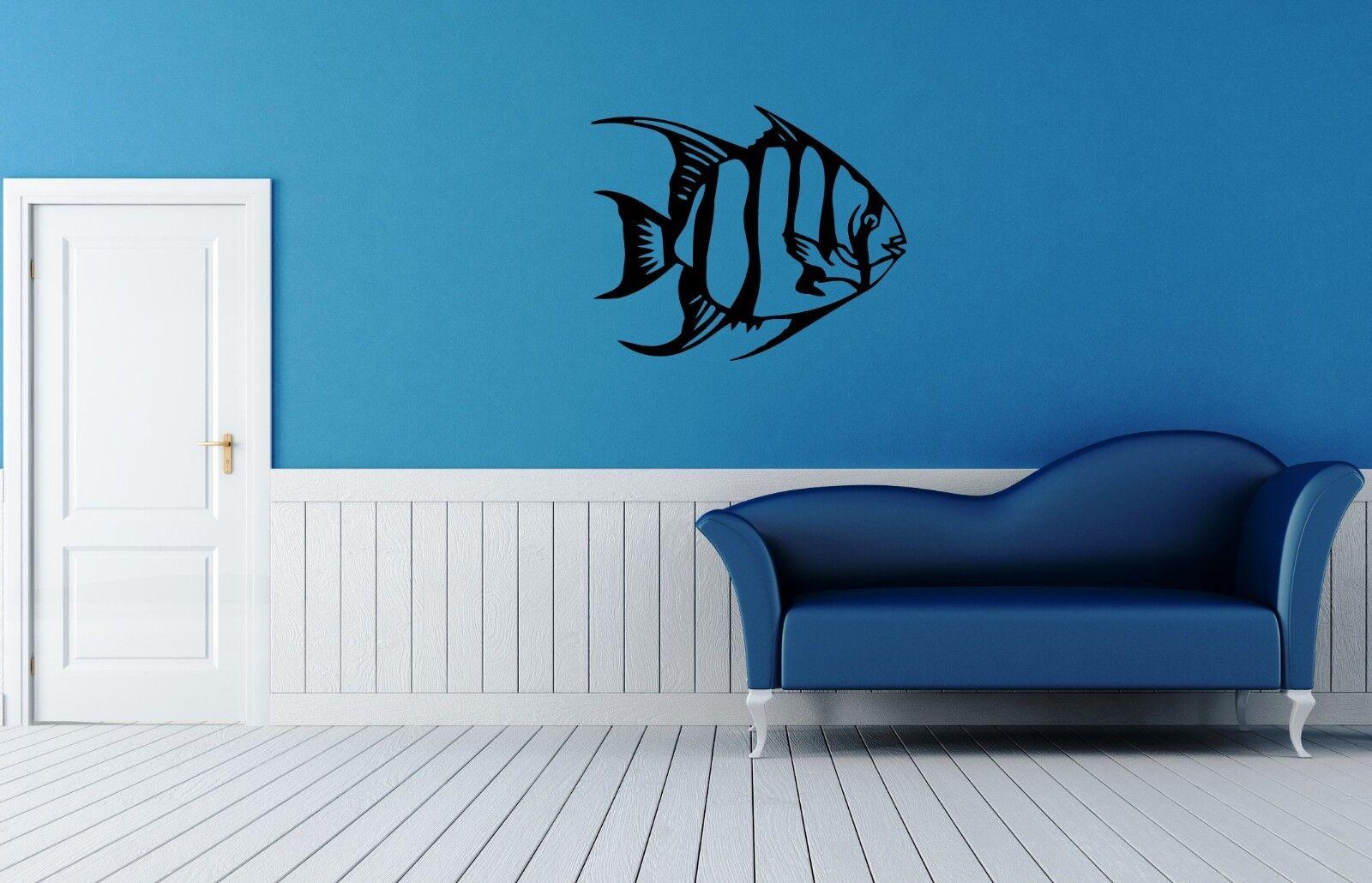 Wall Stickers Vinyl Decal Fish For Bathroom Ocean Sea Marine Animal