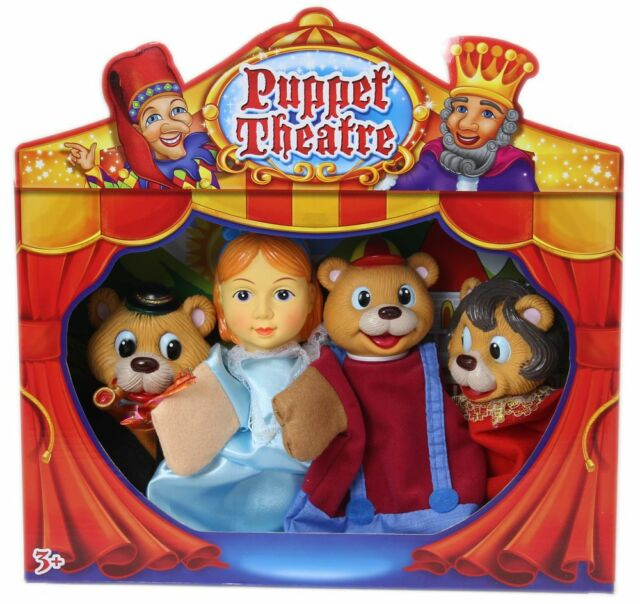Childrens Puppet Theatre ~ Goldilocks And The Three Bears Puppets