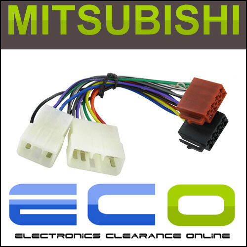 s l640 connects2 stereo wiring harness adaptor iso lead for mitsubishi  at gsmx.co