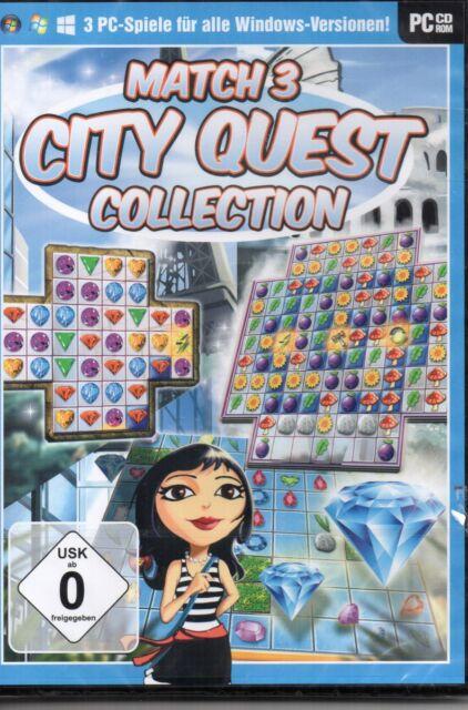 Match 3 City Quest Collection - PC - deutsch - Neu / OVP