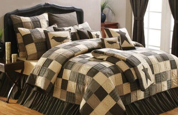 Vhc Brands 10146 Kettle Grove Luxury King Quilt 105x120 Ebay