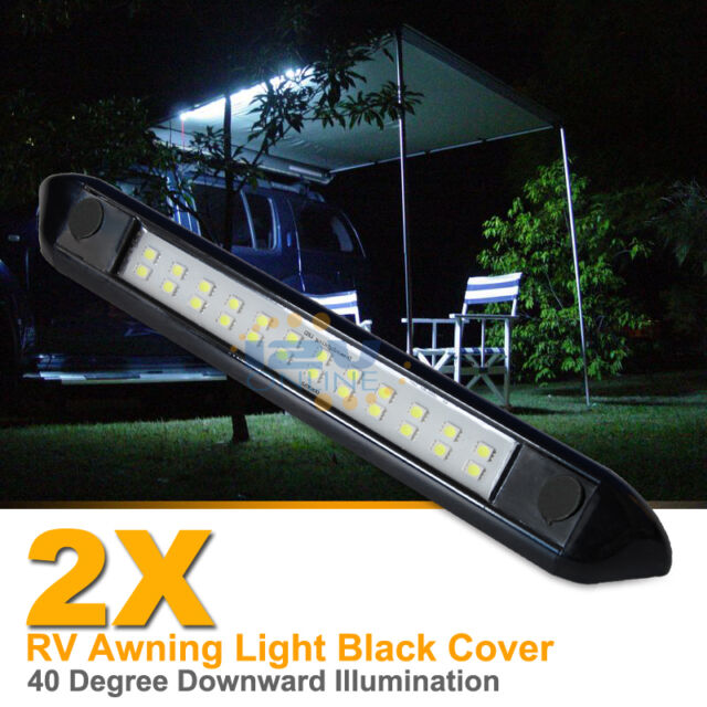 Marvelous 2X 12V LED Awning Light RV Camper Trailer Boat Exterior Camping Bar Lamp  Cool W