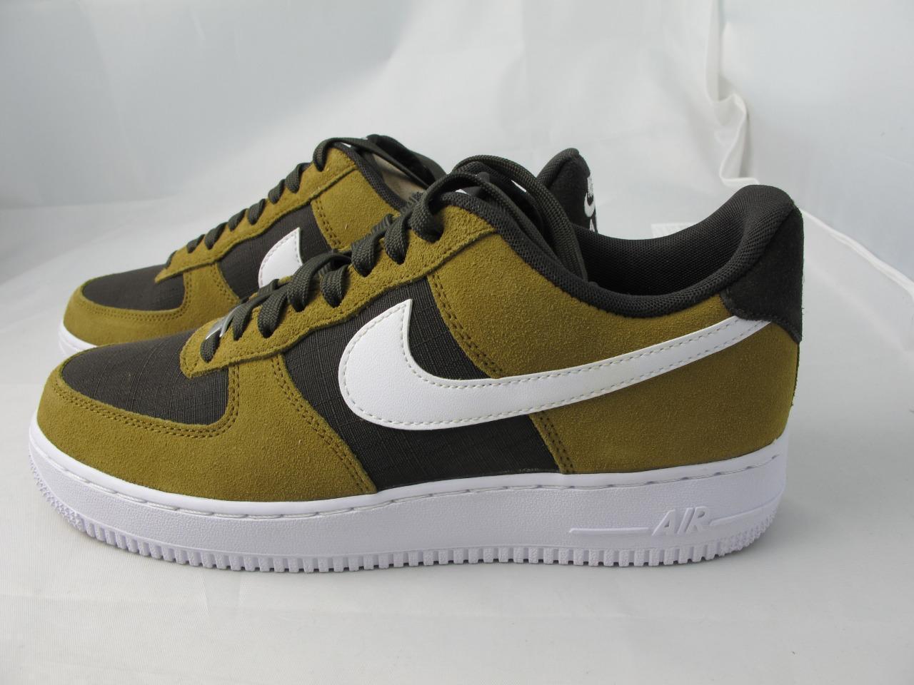 Nike Air Force 1 Golden Tan Mens Trainers 488298 207 12 eBay